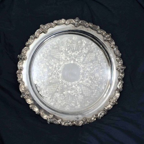 Tray, Silver Plate, Serving / Display / Decor, 13 inches - SOLD