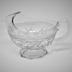 """Gravy Boat Clear Glass, """"Cape Cod"""" Pattern by Imperial Glass, SOLD"""