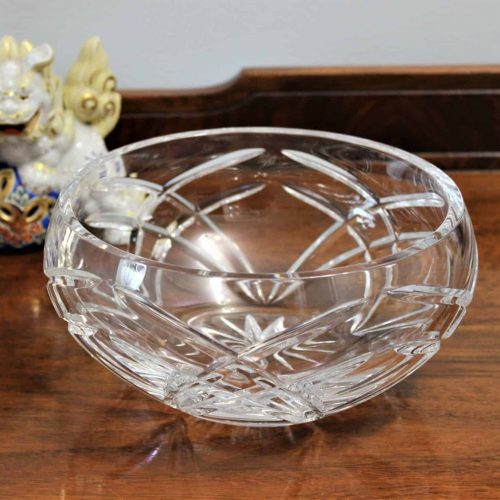 Bowl, Decorative, Cut Crystal