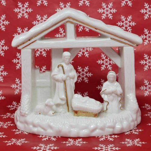 "Candle Holder Nativity, ""Holiday Elegance Collection"" Mikasa, Porcelain"