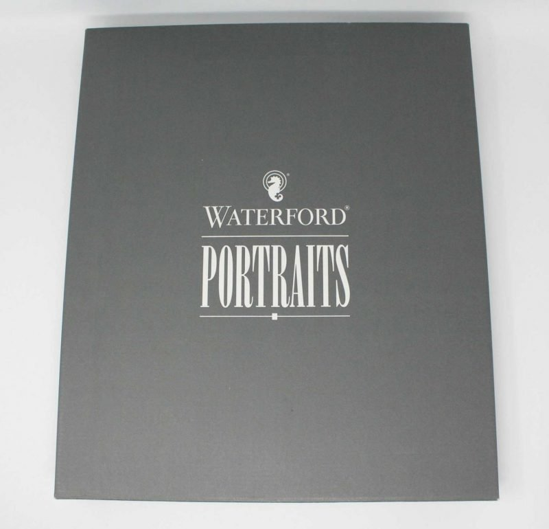 """Frame WATERFORD Crystal Photo Frame, """"Overture"""" 8x10 In-box"""