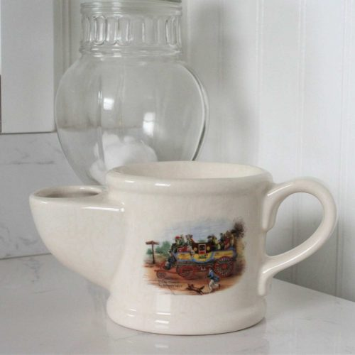 Shaving Mug / Scuttle, Steam Coach by Gurney, Wade Ceramics, England