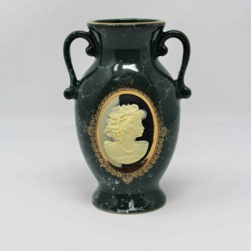 Urn, Mount Clemens Pottery, Cameo Marbled Grecian/Italian Wine Urn