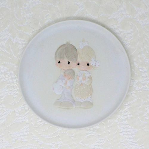 Decorative Plate Precious Moments, Rejoicing With You, Enesco 1981