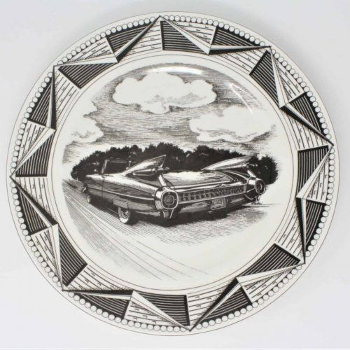 Plate 1959 Cadillac Coupe DeVille Convertible by Marla Shega, Slice of Life