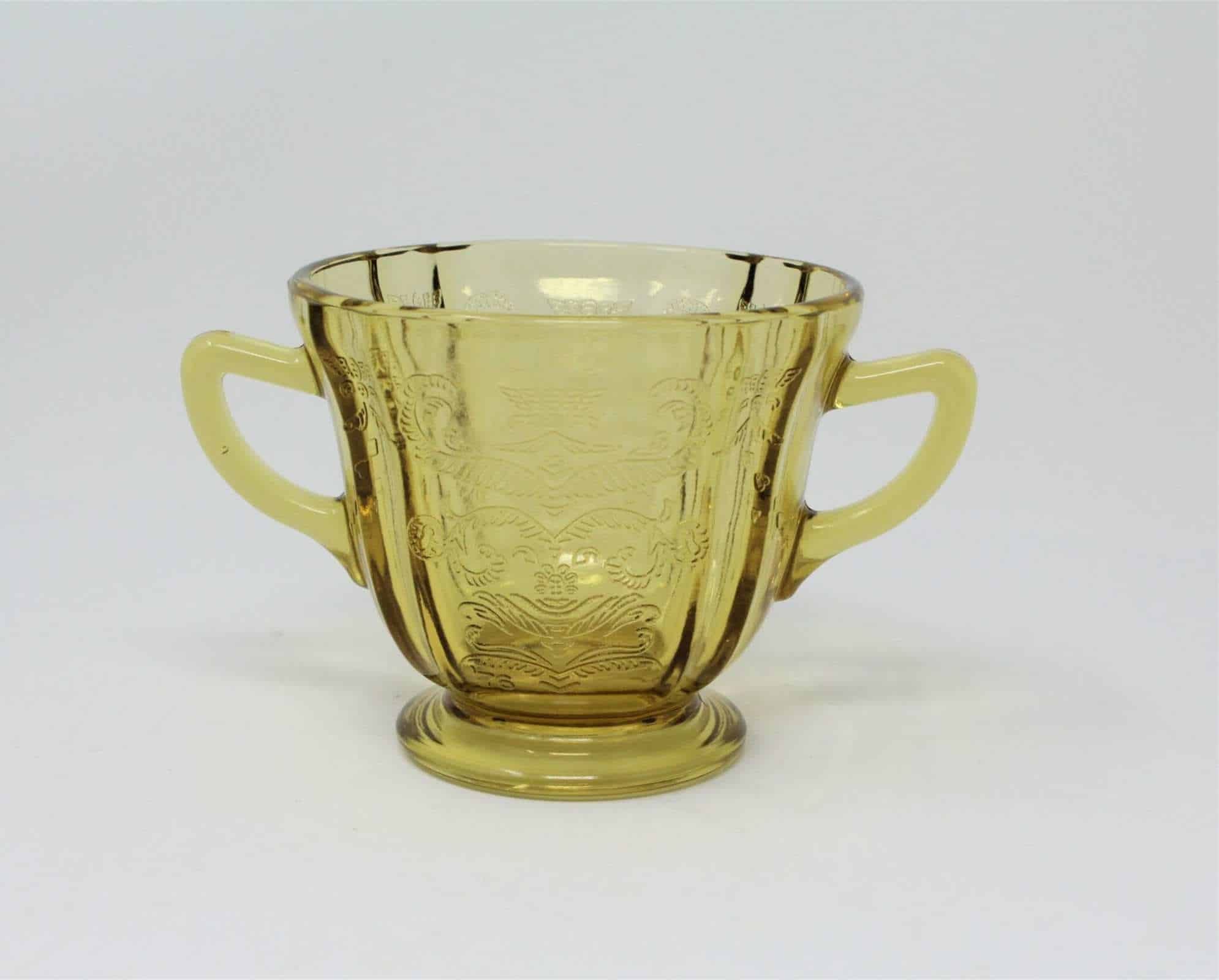 Depression Glass Madrid Amber by Federal Glass Individual Replacement