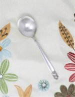 """Soup Spoon/Gumbo Silver plate, """"Danish Princes"""" Holmes & Edwards Inlaid"""