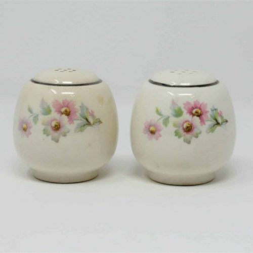 "Salt and Pepper, Swing,""JJ-59"" pattern, Virginia Rose by Homer Laughlin, SOLD"