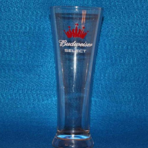 Glasses, Beer / Pilsner, Budweiser Select Red Crown, Set of 4