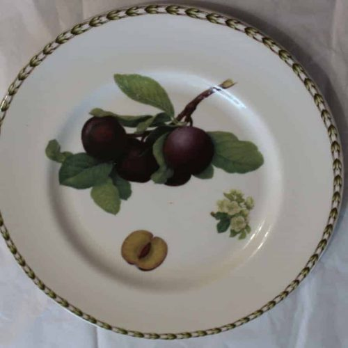 "Plate Dinner, ""Hooker's Fruit Plum"", Rosina Queens Royal"