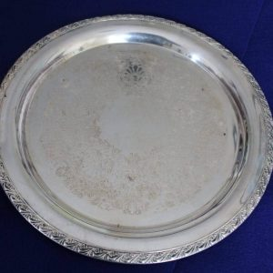 Tray Serving, Silver Plate, Wm Rogers 772
