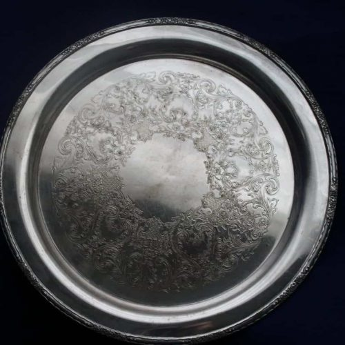 "Tray/Serving, Silver Plate, ""Camille"" by International Silver 15"""