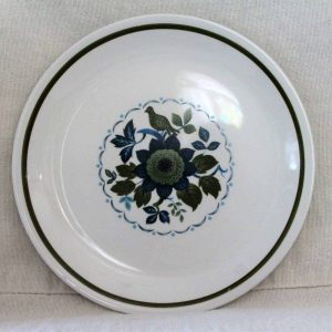 Vintage Bread and Butter Plate by Alfred Meakin - Concorde Pattern