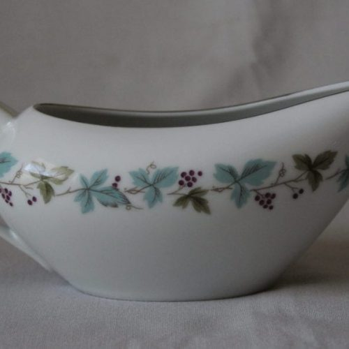 "Gravy Boat, ""Vintage 6701 Pattern"" by Fine China of Japan"