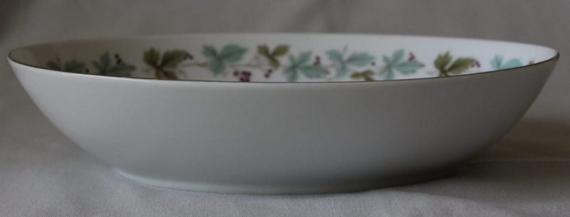 """Serving Bowl, Oval, """"Vintage 6701"""" by Fine China of Japan"""