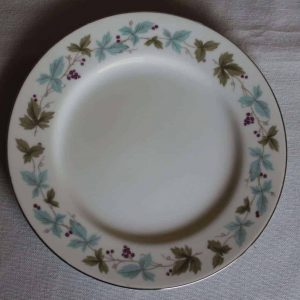 """Plate, Bread and Butter / Dessert, """"Vintage 6701"""" by Fine China of Japan, Grape Vines"""