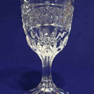 """Wine Glasses / Clarets, """"Luna"""" by Crystal d'Adriana, Set of 4"""