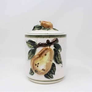 Canister, Ceramic, Pear, Embassy Quality Products NPS, Japan
