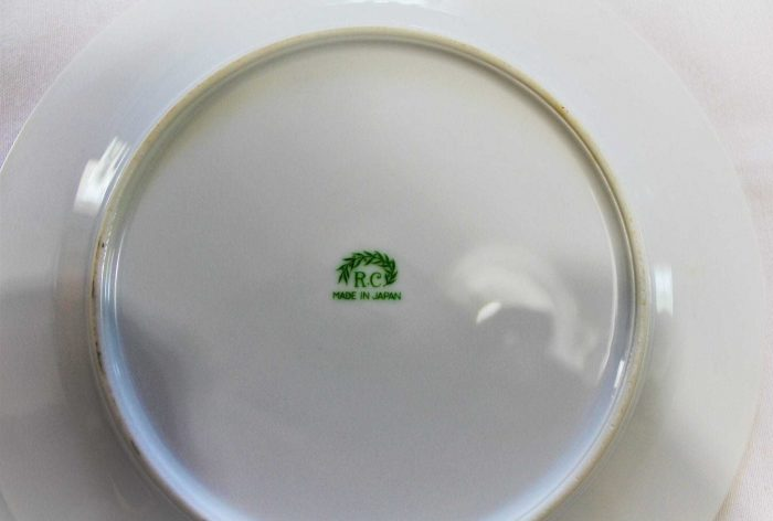 Plate, Dinner/Luncheon, RC Stamp N1427, Noritake, Pink/Red Roses
