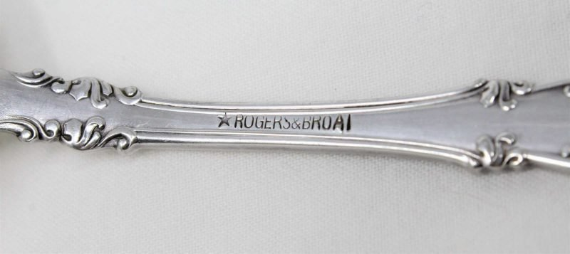 """Fork, Cold Meat Serving Fork, Silverplate, """"New Century"""", Rogers & Bros AI"""
