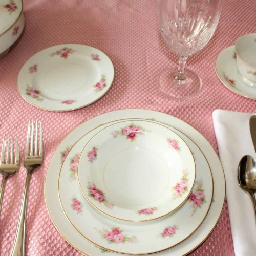 "Dinnerware Complete Place Setting, ""RC Stamp N1427"" by Noritake, 6 Pc. Place Settings"