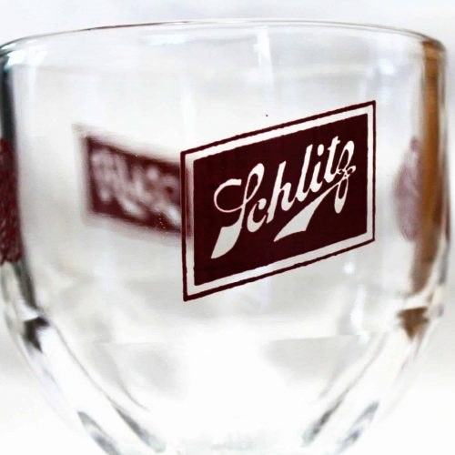 Glass, Beer / Chalice, Schlitz Beer Logo, Collectible