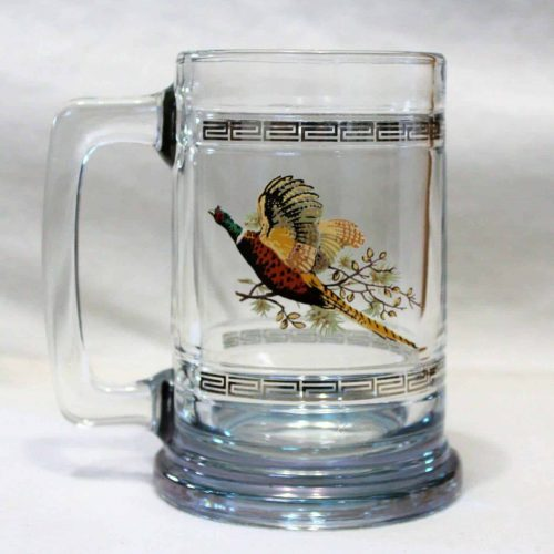 Mug, Beer Stein, Princess House Colonial Collection, Pheasant #689