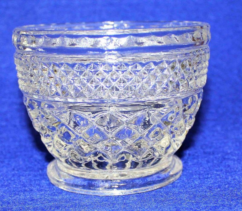 """Creamer and Sugar Bowl with Lid, """"Wexford"""" by Anchor Hocking, Glass"""