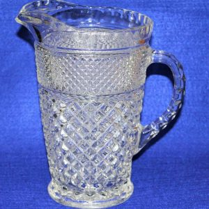 """Pitcher, """"Wexford"""" by Anchor Hocking 64 oz, SOLD"""