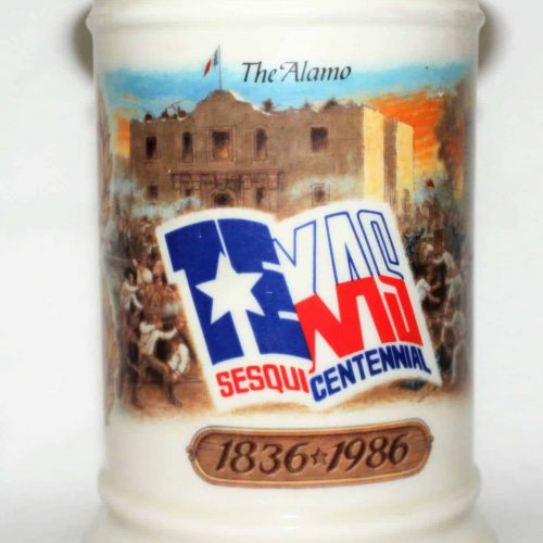 Decanter Texas Alamo , W. L. Weller Sesquicentennial Collectible, SOLD