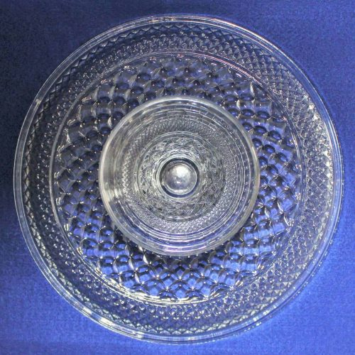 "Cake Stand, ""Wexford"" by Anchor Hocking - 12"", SOLD"
