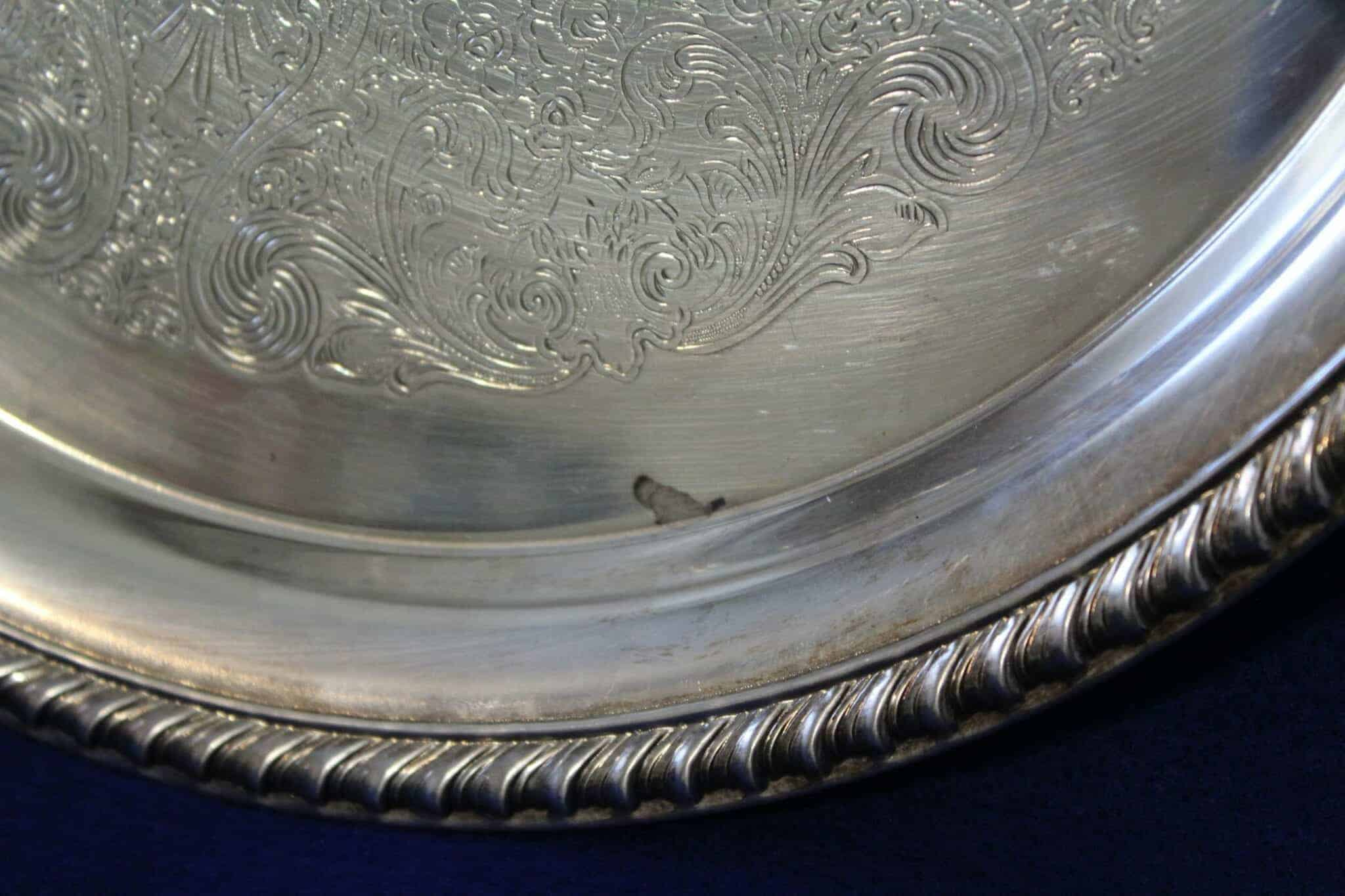 Tray, Silver plate, Holloware Pattern 871, International Silver
