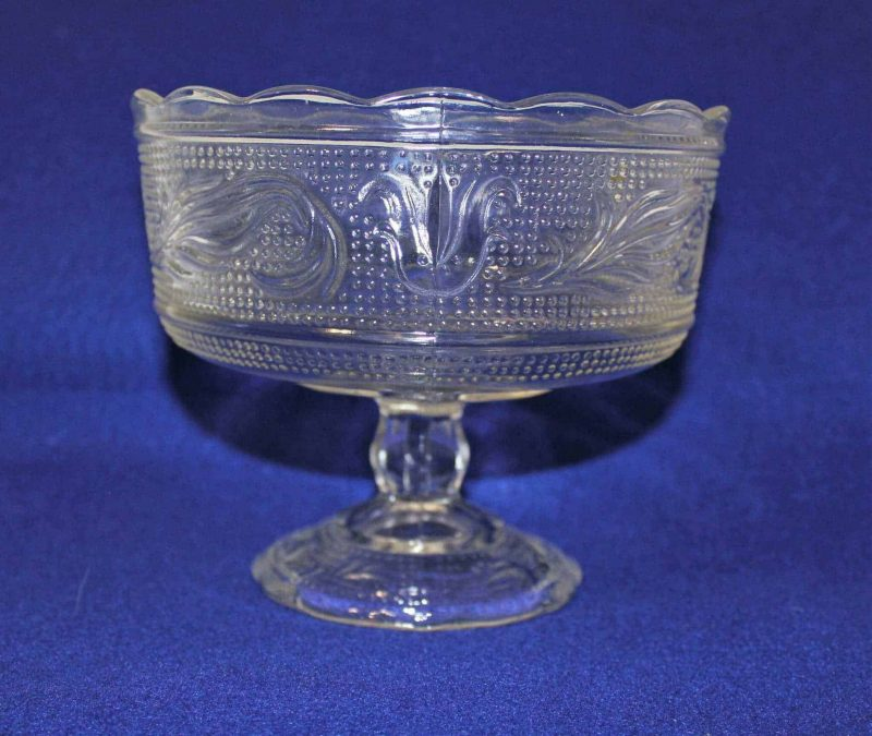 Candy Dish / Compote, Footed, by E O Brody