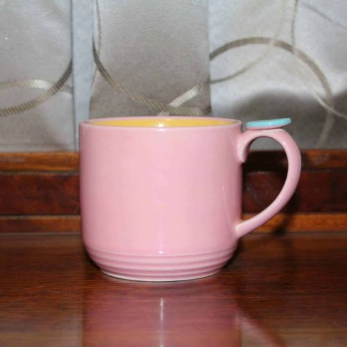 Mug, Colorways by Lindt-Stymeist - Pink/Yellow/Aqua. SOLD