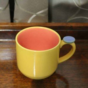 Mug, Colorways by Lindt-Stymeist - Yellow/Salmon/Blue, SOLD