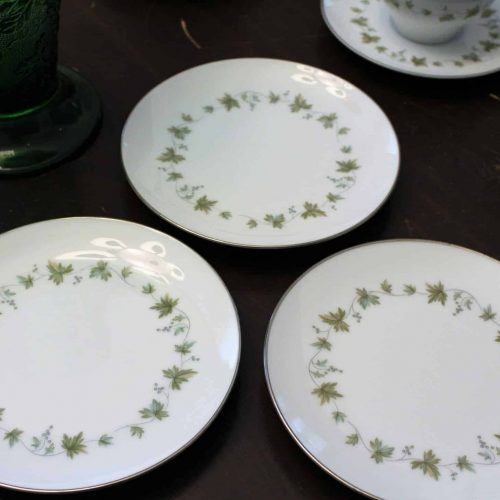 """Plate Bread and Butter/Dessert Plate, """"Lexington"""" by NORITAKE Set of 3"""