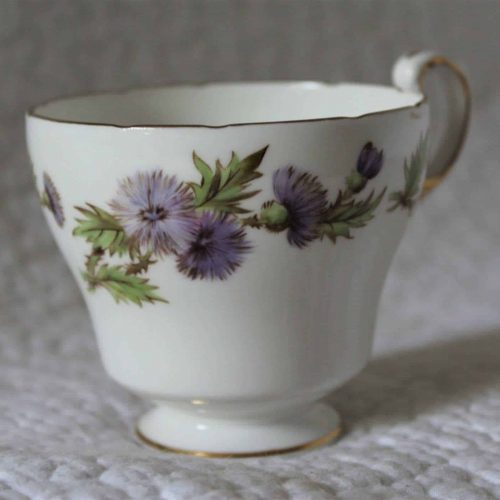 Teacup, Highland Queen Pattern by Paragon, Bone China