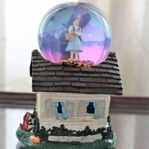 Musical Snow Globe, Scarce Wizard Of Oz: Dorothy & Wicked Witch, SOLD
