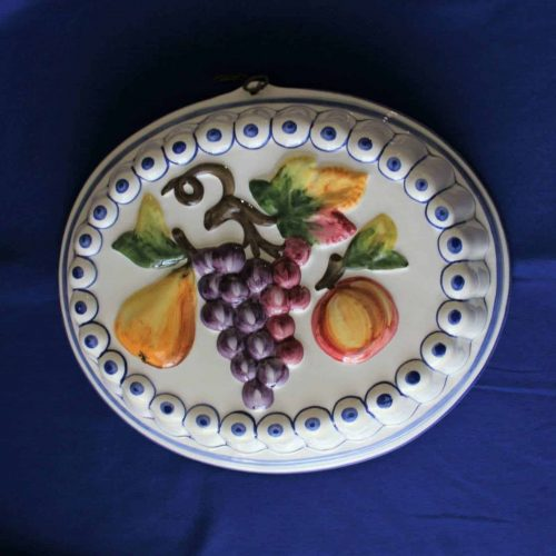 Decorative Mold / Mould, ABC Bassano Hand Painted, Italy, SOLD