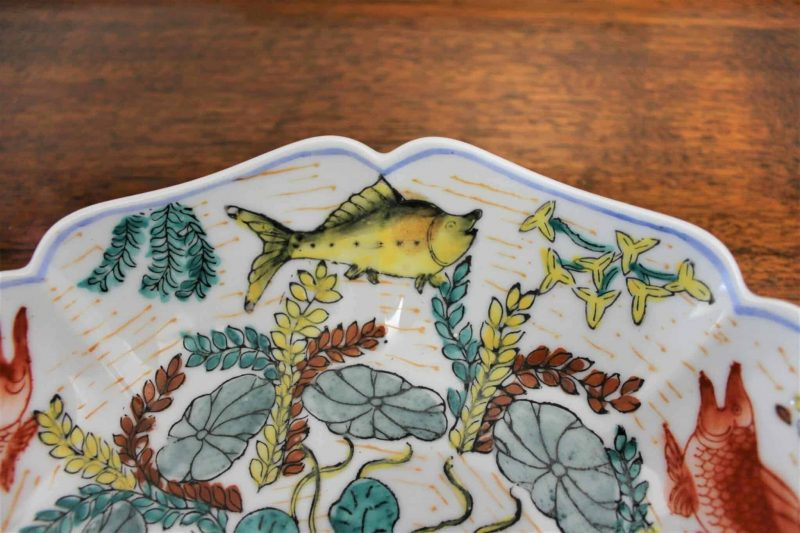 Decorative Plate Macau Ceramic by Oriental Objects D'Art - Hand Painted